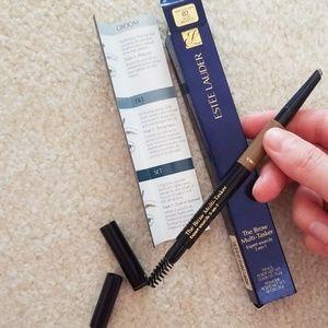 New, light brunette estee lauder brow pencil